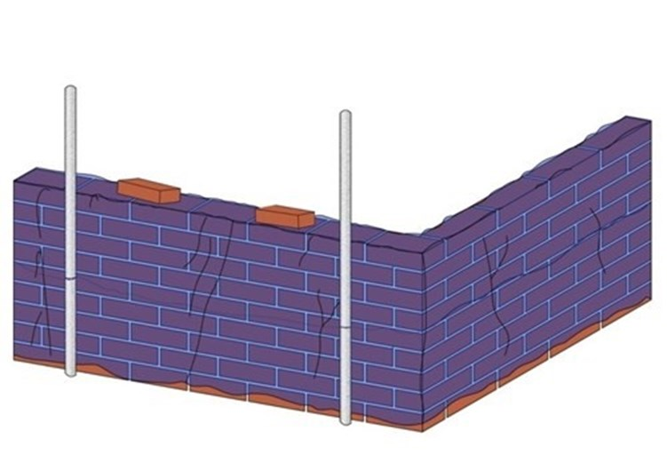 Protecting brickwork in cold weather